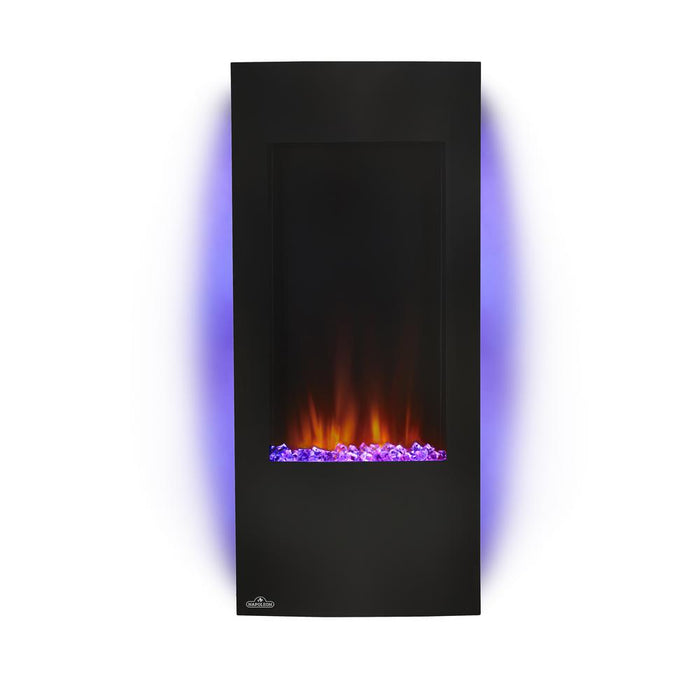 Napoleon NEFV38H Electric Fire place Azure Vertical 38 inch - Black - Fireplace - Napoleon - Topchoice Electronics