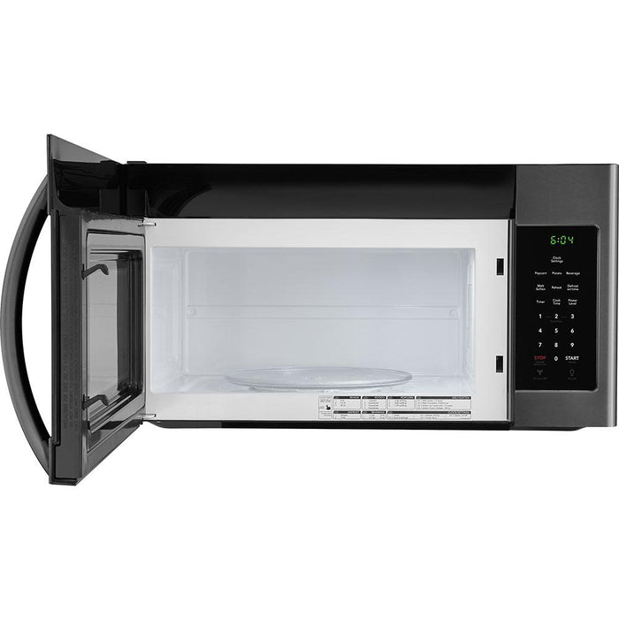 Frigidaire FFMV1846VD 1.8 Cu. Ft. Over-The-Range Microwave In Black Stainless Steel