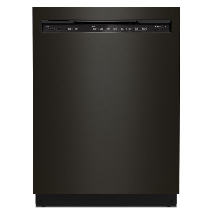 KitchenAid KDFM404KBS 44 dBA Dishwasher in PrintShield Finish with FreeFlex Third Rack In Black