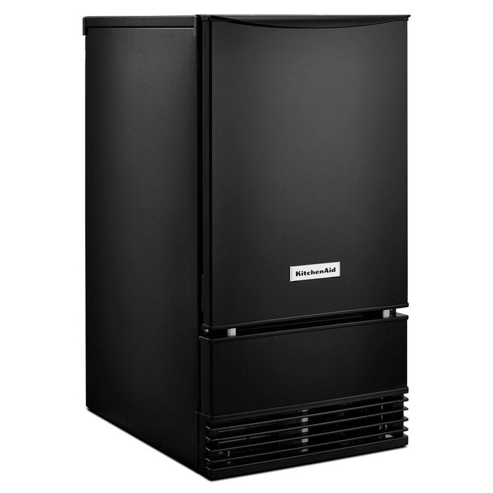 KitchenAid KUID508HBL 18-Inch Automatic Ice Maker In Black