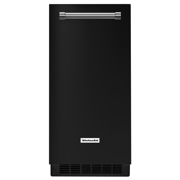 KitchenAid KUIX335HBL 15-Inch Automatic Ice Maker In Black