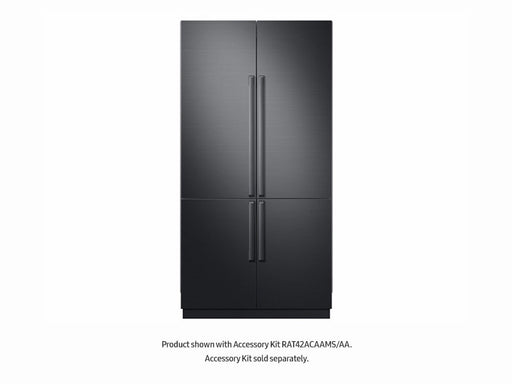 "Samsung BRF425200AP/AA 42"" Built-In Chef Collection 4-Door French Door Panel Ready Refrigerator"