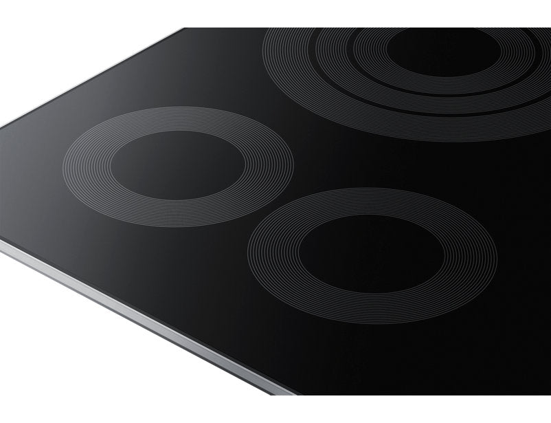 "Samsung NZ30K6330RS/AA 9.5 kW Electric Cooktop with 6/9"" 3.3 kW Rapid Boil Burner - Stainless Steel - Cooktop - Samsung - Topchoice Electronics"