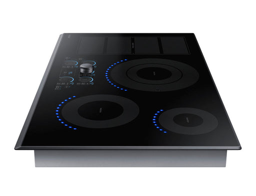 Samsung NZ36K7880UG/AA 10.8 kW Electric Induction with Virtual Flame Technology™ - Black Stainless Steel - Cooktop - Samsung - Topchoice Electronics