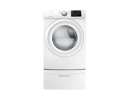 Samsung DV42H5000EW/AC 7.5 cu.ft Electric Front-Load Dryer - White - Dryer - Samsung - Topchoice Electronics