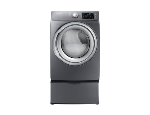 Samsung DV42H5200EP/AC 7.5 cu.ft Electric Front-Load Dryer - Platinum - Dryer - Samsung - Topchoice Electronics