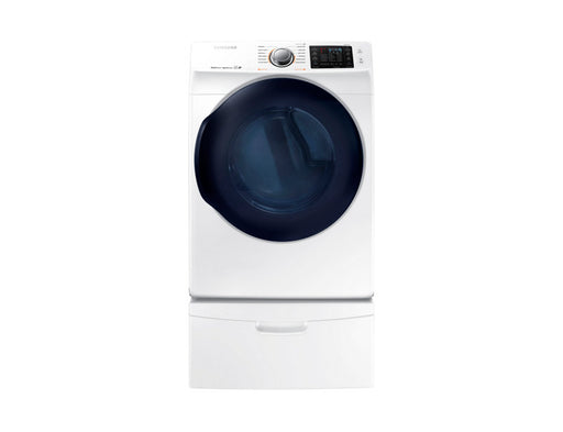 Samsung DV45K6200EW/AC 7.5 cu.ft Electric Front-Load Dryer - White - Dryer - Samsung - Topchoice Electronics