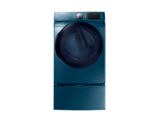 Samsung DV45K6200EZ/AC 7.5 cu.ft Electric Front-Load Dryer - Blue Sapphire - Dryer - Samsung - Topchoice Electronics