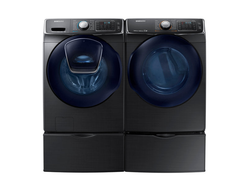 Samsung DV45K6500EV/AC 7.5 cu.ft Electric Front-Load Dryer - Black Stainless Steel - Dryer - Samsung - Topchoice Electronics
