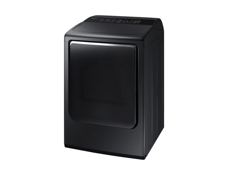 Samsung DVE54M8750V/AC 7.4 cu.ft Dryer with MultiSteam™ - Black Stainless Steel - Dryer - Samsung - Topchoice Electronics