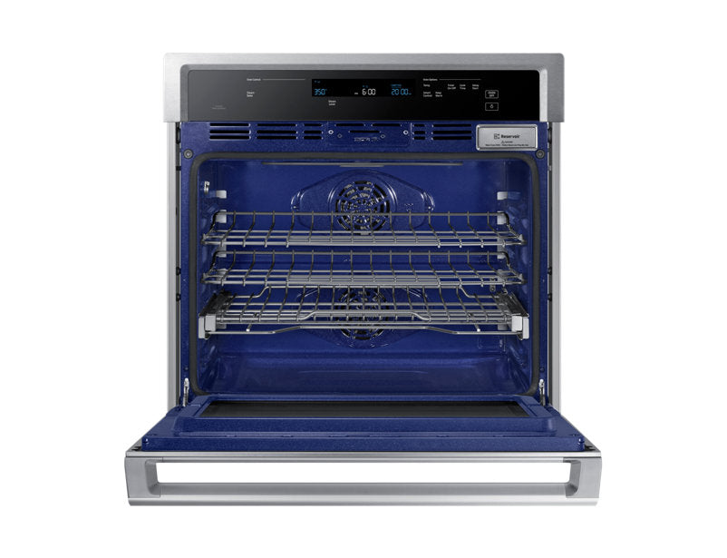 Samsung NV51K6650SS/AA 5.1 cu.ft Convection Single Oven with Steam Bake - Stainless Steel - Wall Oven - Samsung - Topchoice Electronics