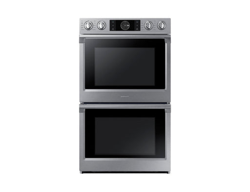 Samsung 10.2 cu.ft Convection Double Oven with Steam Bake and Flex Duo - Wall Oven - Samsung - Topchoice Electronics