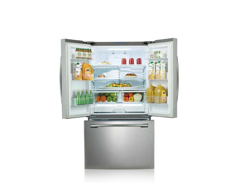 Samsung RF261BEAESR/AA 25.6 cu.ft French Door Refrigerator with Twin Cooling Plus - Stainless Steel - Refrigerator - Samsung - Topchoice Electronics