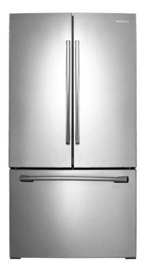 "Samsung RF26HFENDSR/AA 36"" French Door Refrigerator with Twin Cooling Plus System - Stainless Steel - Refrigerator - Samsung - Topchoice Electronics"