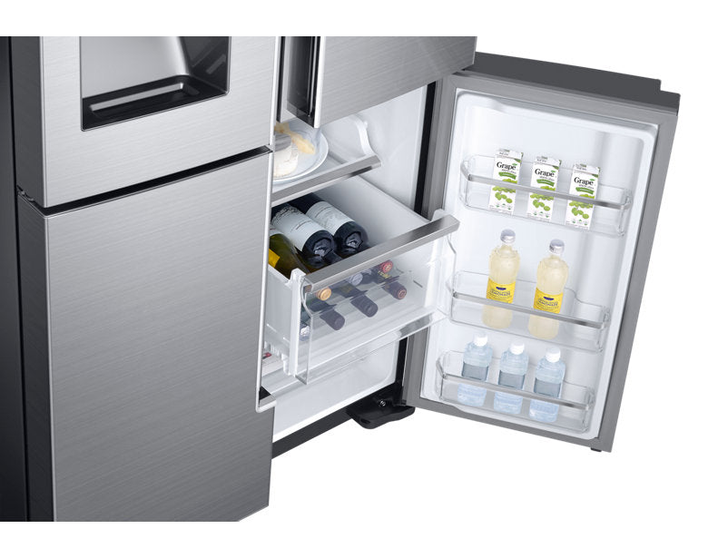 Samsung RF28K9070SR/AA 28 cu.ft French Door Refrigerator with FlexZone - Refrigerator - Samsung - Topchoice Electronics