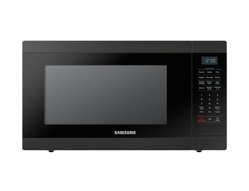 Samsung MS19M8020TG/AC 1.9 Cu.Ft Counter Top Microwave with Sensor Cook and Optional Trim Kit - Matt Black Stainless Steel
