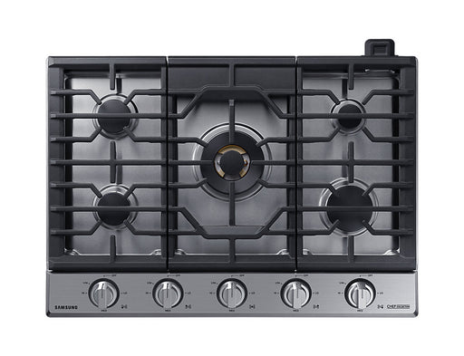 "Samsung 30"" Gas Chef Collection Cooktop with 22K BTU Dual Power Burner"