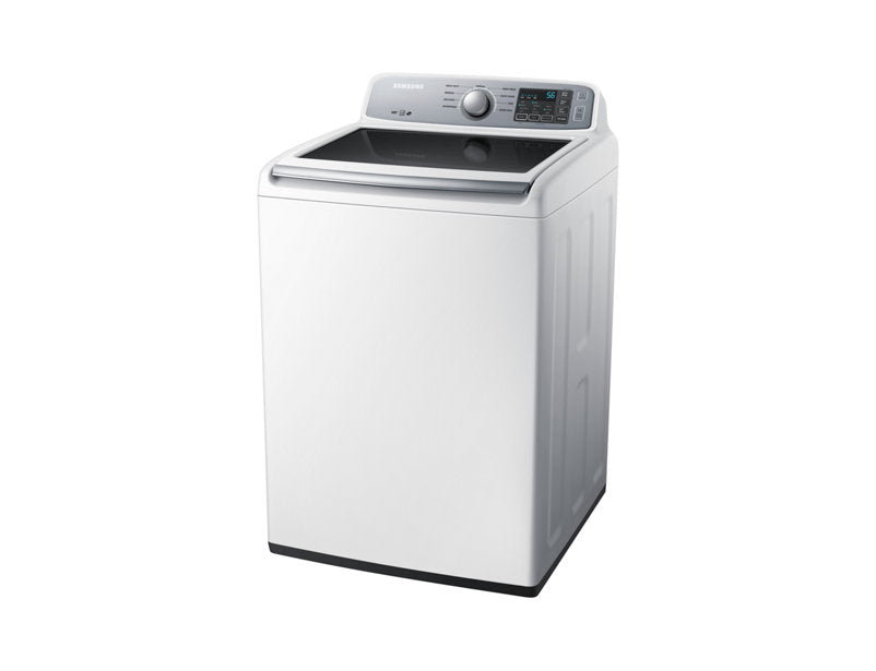 Samsung DV45H7000EW/AC 7.4 cu.ft Electric Top-Load Dryer - White - Dryer - Samsung - Topchoice Electronics