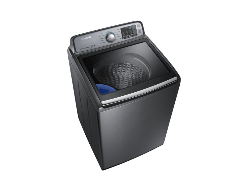 Samsung DVE50M7450P/AC 7.4 cu.ft Dryer with Steam - Platinum - Dryer - Samsung - Topchoice Electronics