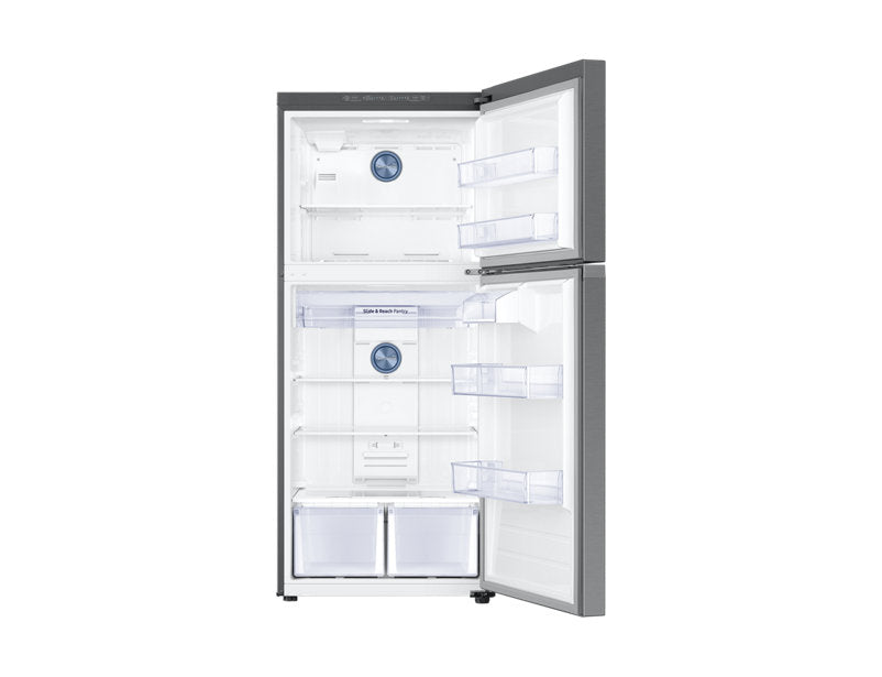 Samsung 17.6 cu ft Top Mount Refrigerator with Flex Zone - Refrigerator - Samsung - Topchoice Electronics