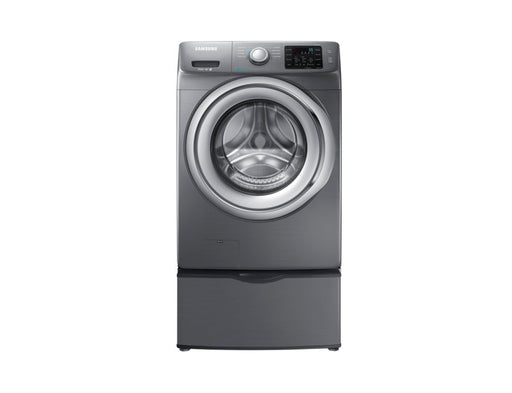 Samsung WF42H5200AP/A2 4.8 cu.ft Front-Load Washer with Smart Care - Platinum - Washer - Samsung - Topchoice Electronics