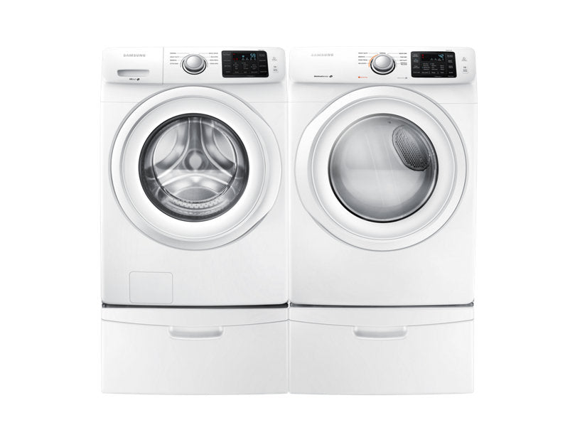 Samsung WF45M5100AW/A5 Front-Load Washer with 5.2 cu.ft. Capacity - White - Washer - Samsung - Topchoice Electronics