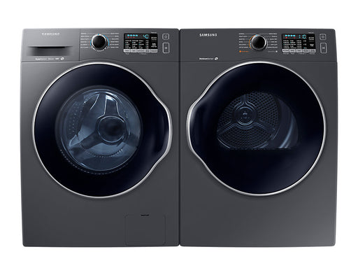 "Samsung 2.6 cu. ft. 24"" Front Load Washer with 4.0 cu. ft. Electric Dryer Bundle - K6800"