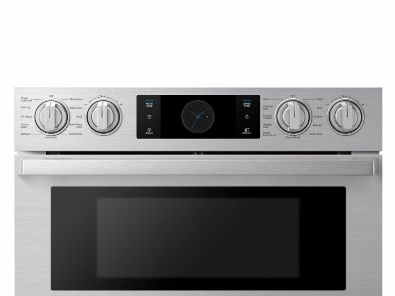 "Samsung NQ70M9770DS/AA 30"" Chef Collection Microwave Combination Oven with Flex Duo™"