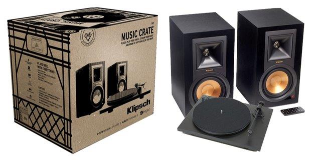 Klipsch THE MUSIC CRATE SYSTEM - Speakers - Klipsch - Topchoice Electronics