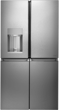GE Cafe CQE28DM5NS5 Energy Star® 27.4 Cu. Ft. Smart Quad-Door  Refigerator In Stainless Steel