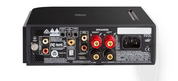 NAD NAD D 3020 V2 Stereo integrated amplifier with built-in DAC and  Bluetooth