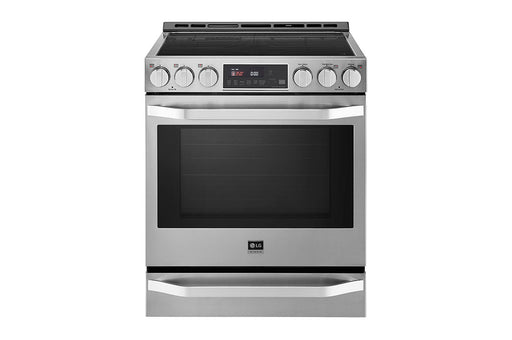 LG LSIS3018SS STUDIO 6.3 cu. ft. Induction Slide-in Range with ProBake Convection® and EasyClean® In Stainless Steel