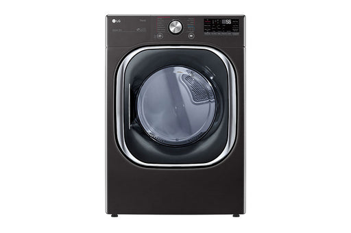 LG DLEX4500B 7.4 Cu. Ft. Electric Steam Dryer In Black Steel