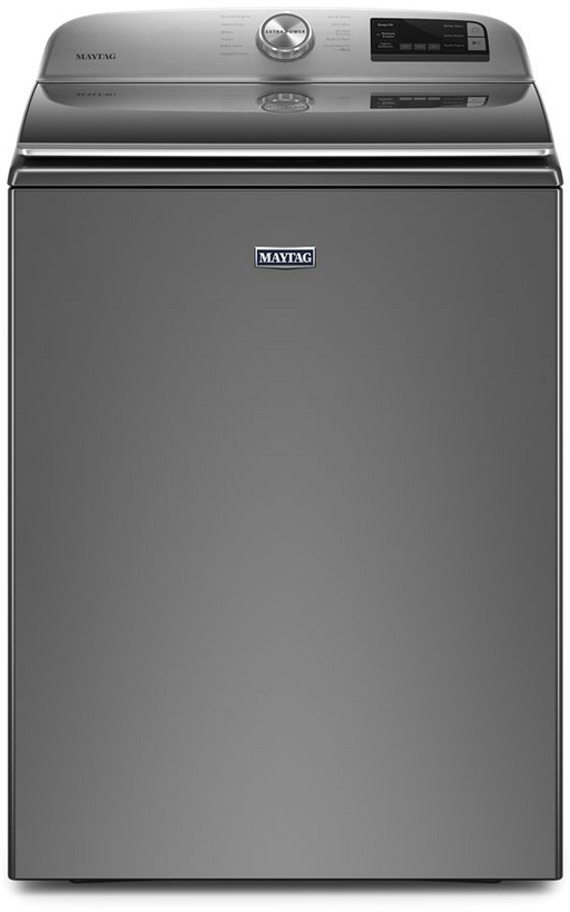 Maytag MVW6230HC Smart Capable Top Load Washer With Extra Power Button In Metallic Slate