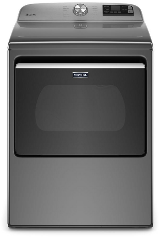Maytag MGD6230HC 7.4 Cu. Ft. Smart Capable Top Load Gas Dryer With Extra Power Button In Metallic Slate
