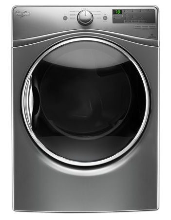 Whirlpool YWED85HEFC 7.4 cu. ft. Electric Dryer with Quick Dry Cycle - Chrome Shadow