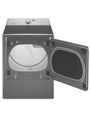 Maytag MGDB855DC 8.8 CU. FT. Extra-large capacity gas dryer with steam refresh cycle - Metallic Slate
