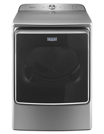 Maytag MGDB955FC 9.2 CU. FT. Extra-large capacity gas dryer with extra moisture sensor - Metallic Slate