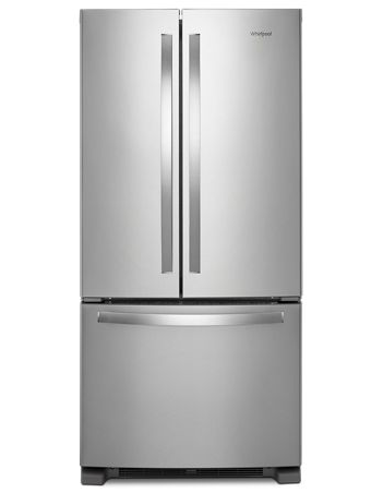 Whirlpool 22 cu. ft. 33-inch Wide French Door Refrigerator