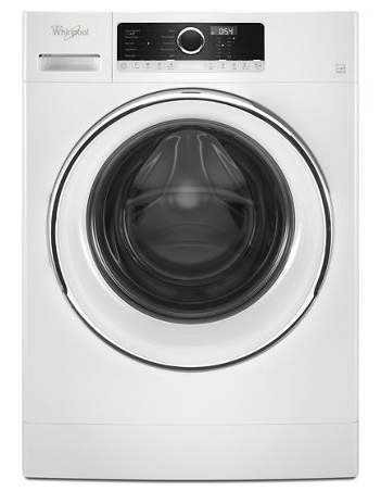 Whirlpool WFW5090GW .3 cu.ft Compact Front Load Washer with TumbleFresh™, 10 cycles - White
