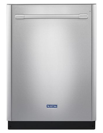 Maytag MDB8979SFZ 24-inch wide top control dishwasher with powerdry option - Fingerprint resistant Stainless Steel