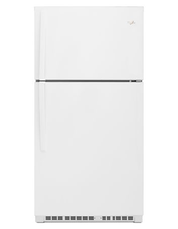 Whirlpool WRT541SZDW 21 cu. ft. 33-inch Wide Top Freezer Refrigerator - White