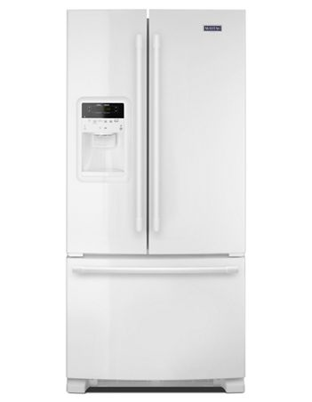 Maytag 22 CU. FT. 33- inch wide french door refrigerator with beverage chiller™ compartment