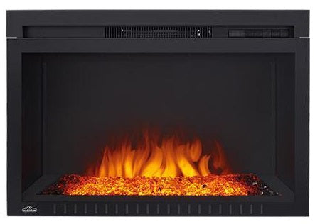 Napoleon Cinema Glass 29 Inch Electric Fireplace - NEFB29HG-3A