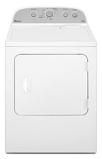 Whirlpool YWED49STBW 7.0 cu. ft. HE Dryer with Steam Refresh Cycle - White