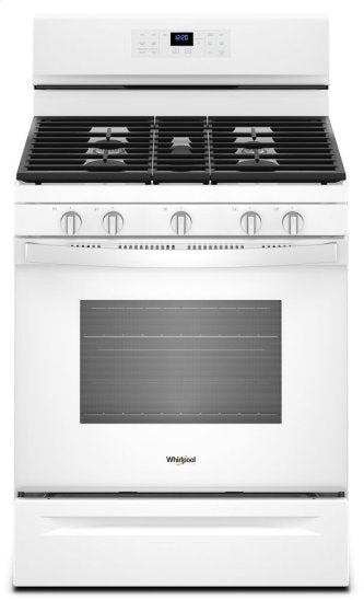 Whirlpool WFG550S0HW 5.0 cu. ft. Gas Range with Fan Convection Oven in White