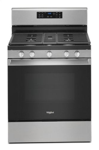 Whirlpool WFG535S0JZ 5.0 cu. ft. Gas Range with Self-Cleaning Convection Oven in Fingerprint Resistant Stainless Steel