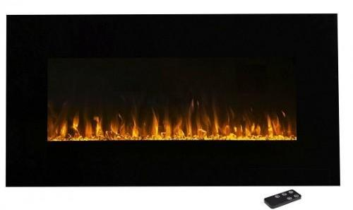 FlameHaus FH-36-CLR-3 36 Inch Multi Color Fireplace with Touch Screen and Remote control - Fireplace - FlameHaus - Topchoice Electronics