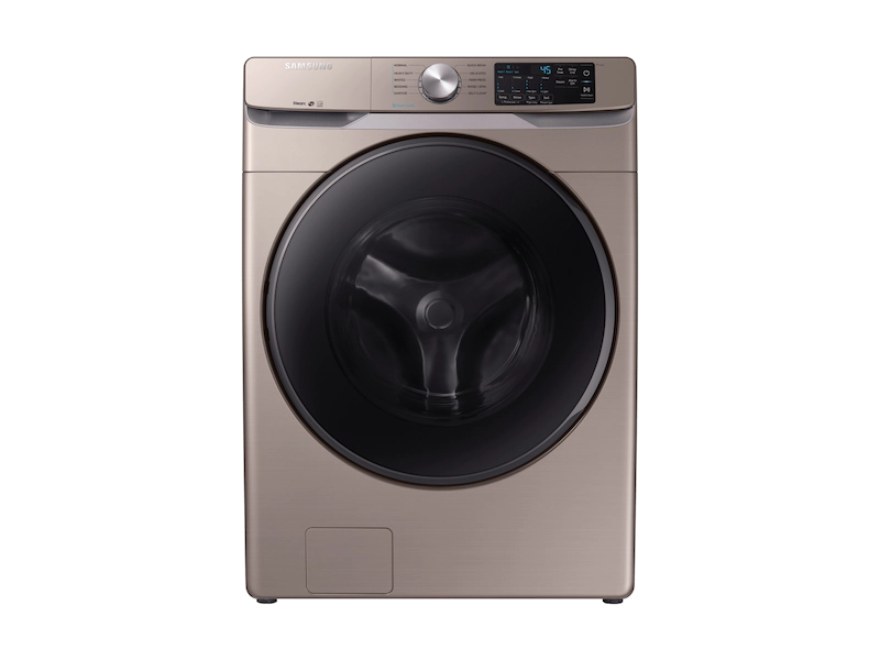 Samsung WF45R6100AC/US 4.5 cu. ft. Front Load Washer with Steam in Champagne