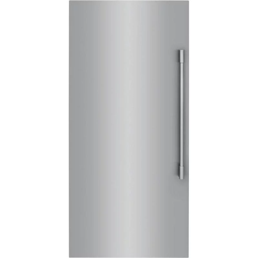 Frigidaire Professional FPFU19F8WF 18.6 Cube Feet Upright Freezer With Interior Ice Maker In Stainless